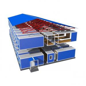 Модульные здания / вагон-дома